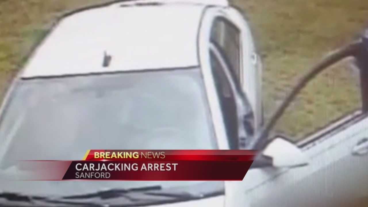 A 17-year-old is arrested in the carjacking of a local disabled veteran.