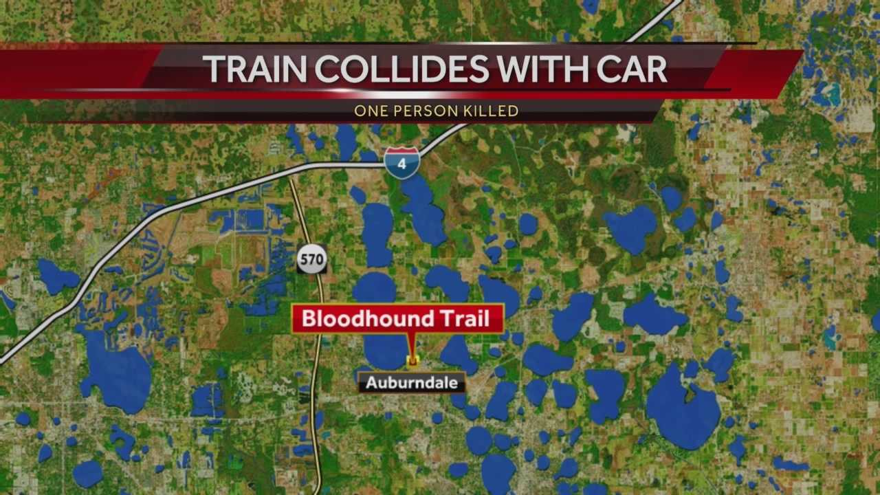One person is dead after an Amtrak train collides with a car.