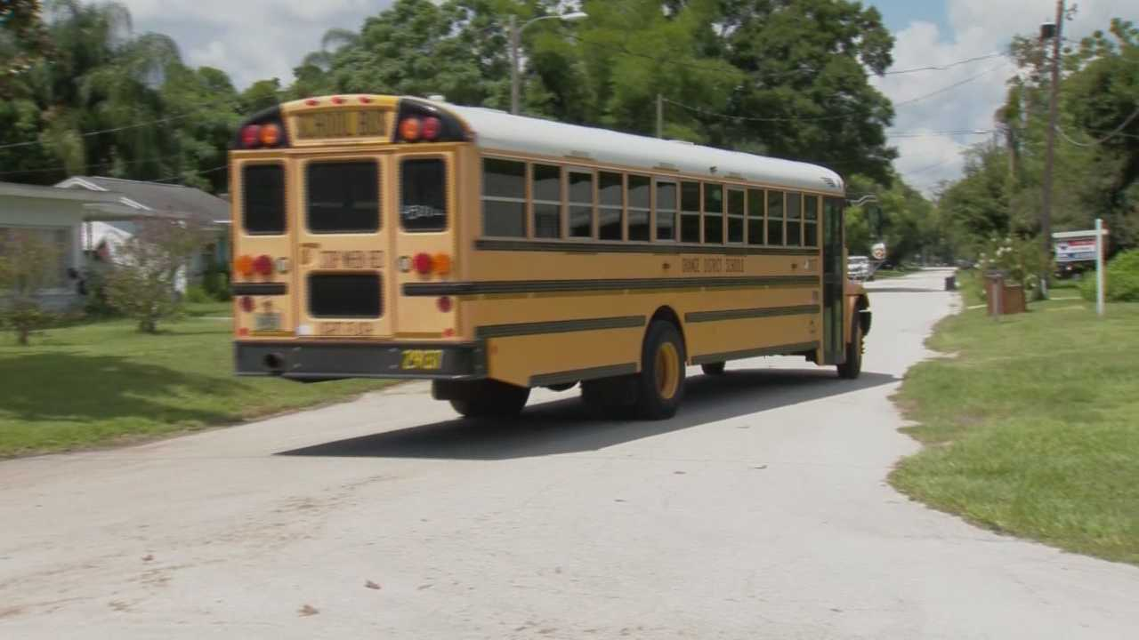 Students in Flagler, Lake, Orange, Osceola and Volusia counties return to school Monday. Gail Paschall-Brown (@gpbwesh) has the story.
