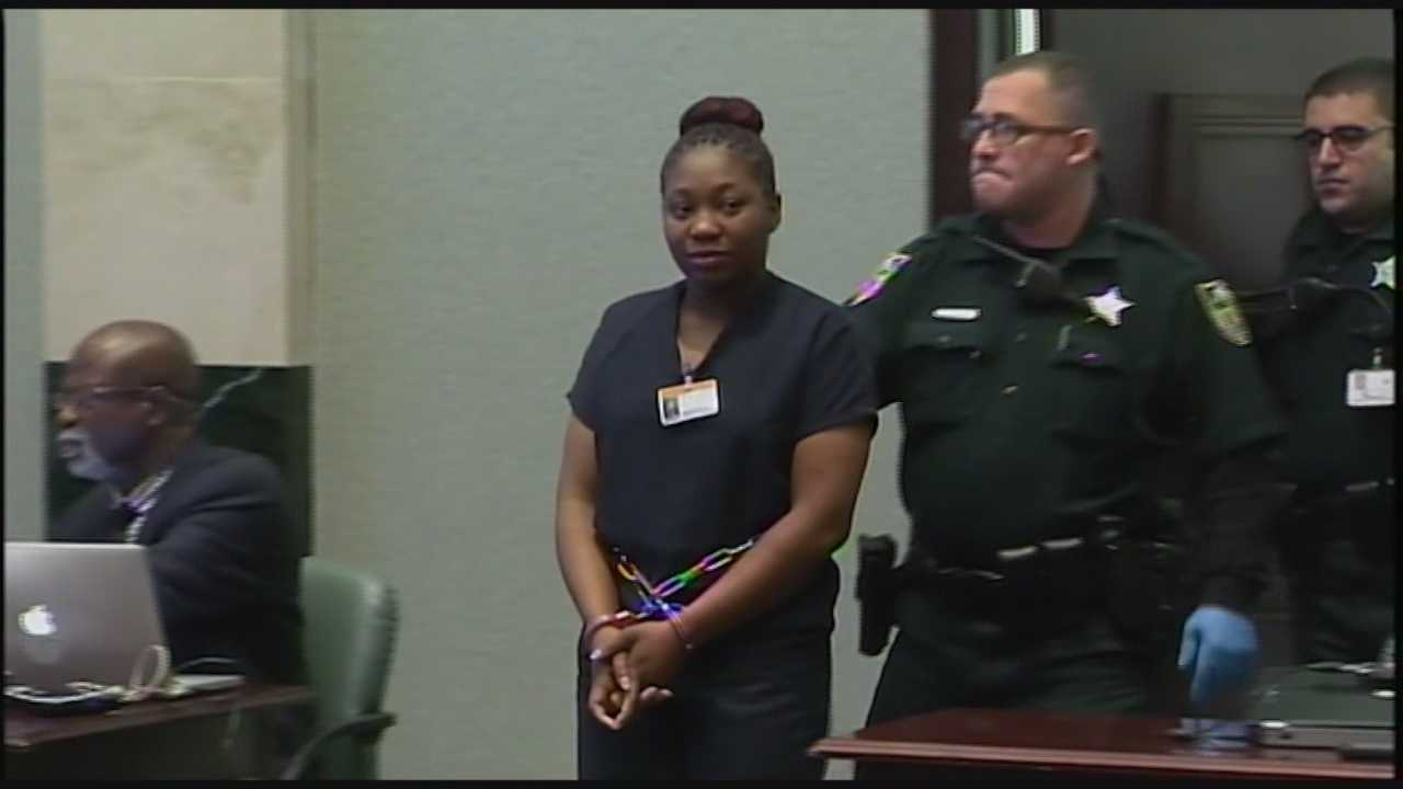 The mother of Bessman Okafor's children admitted on the witness stand Friday that she lied repeatedly to protect him. Bob Kealing (@bobkealingwesh) has the story.