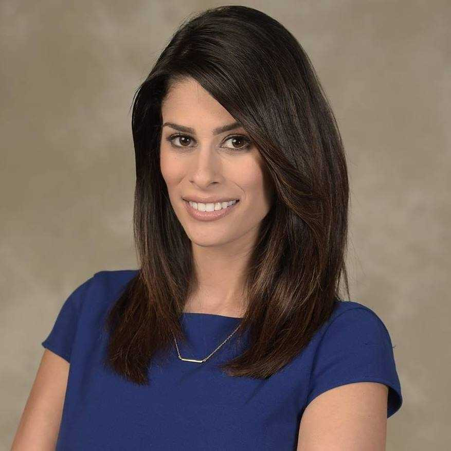 WESH 2 News Sunrise on CW18 anchor Michelle Imperato.