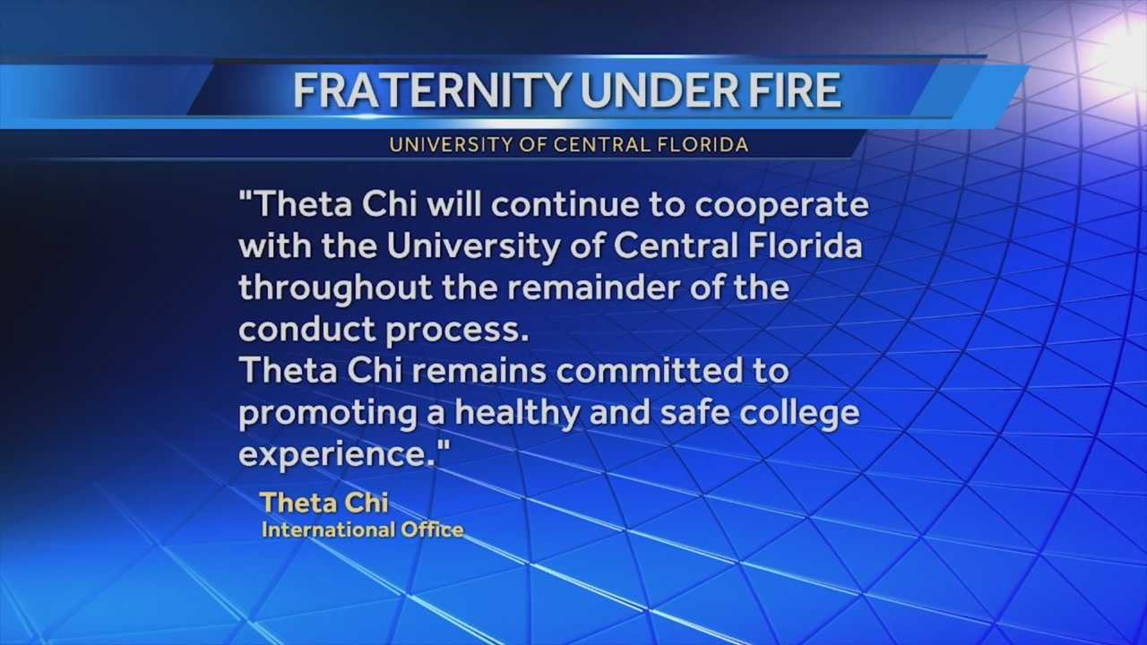 A University of Central Florida fraternity wins a partial victory in its fight against punishment in the wake of a raucous off-campus party. Greg Fox (@GregFoxWESH) has the story.