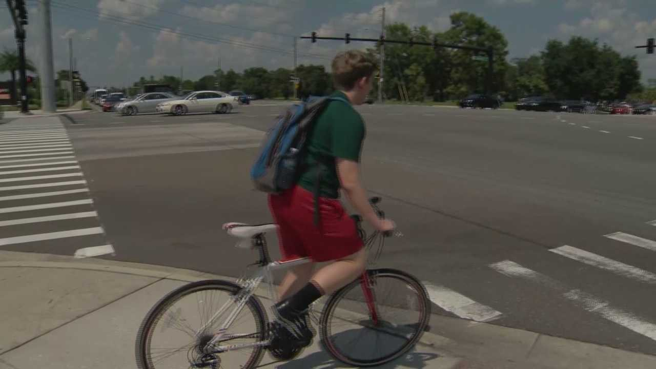 A new pedestrian safety program is tackling dangerous roads and sidewalks that jeopardize your safety. Greg Fox (@GregFoxWESH) has the story.