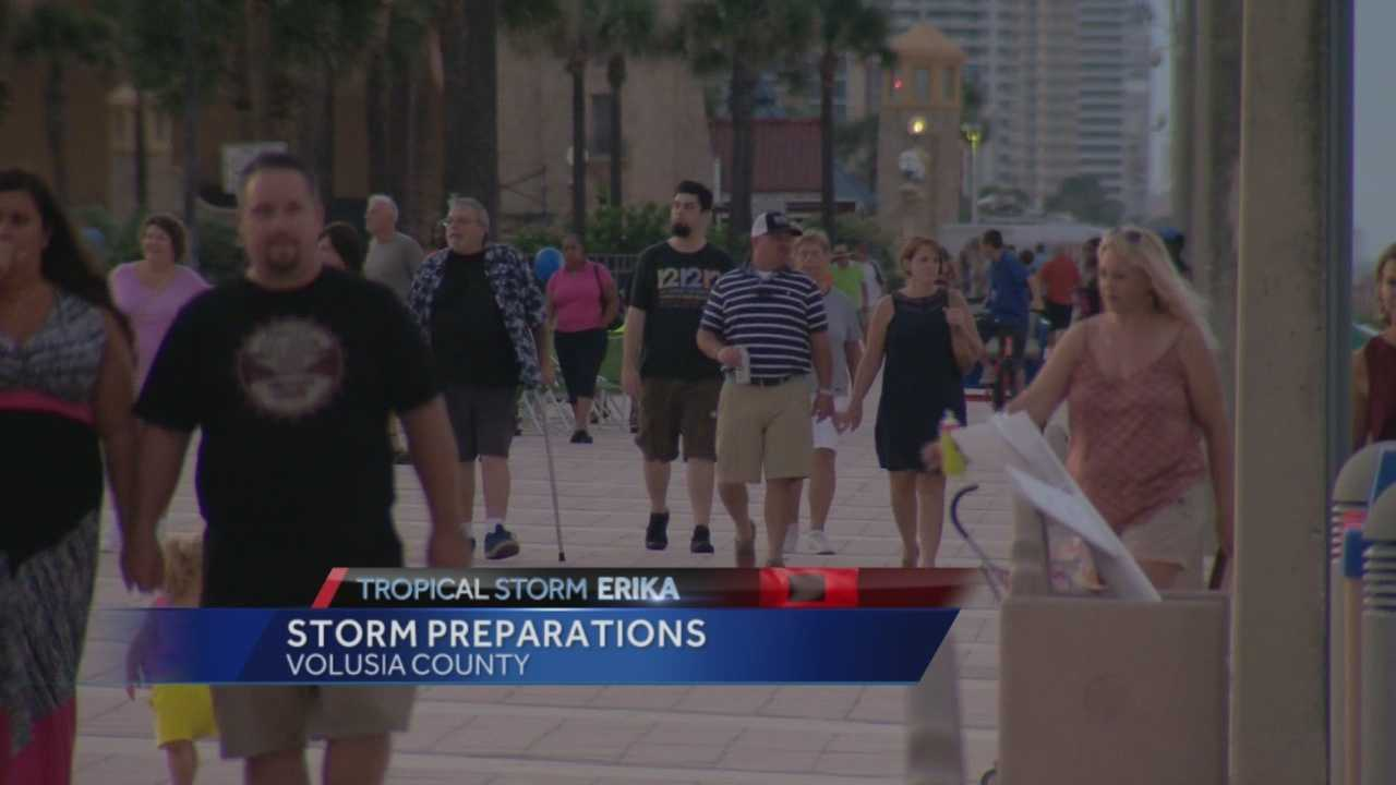 From inland cities to coastal counties, Central Florida is bracing for what could be the first direct hit in years. Chris Hush (@ChrisHushWESH) has details on what Volusia County is doing to prepare.