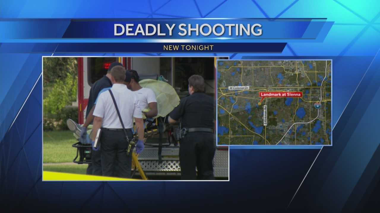 One person has died and three people are in custody following a shooting in Orlando Thursday evening, police say. Adrian Whitsett (@AdrianWhitsett) has the story.