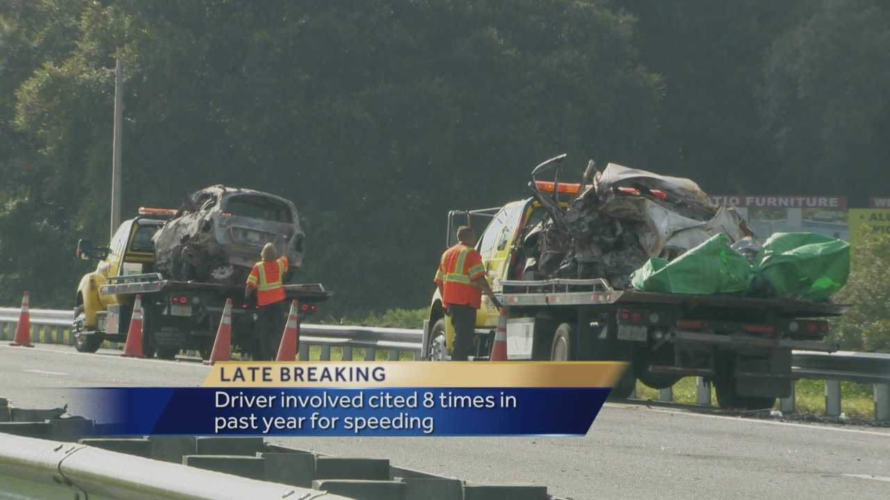 A crash in Lake County claimed three lives and closed part of the Florida Turnpike for hours early Sunday morning.