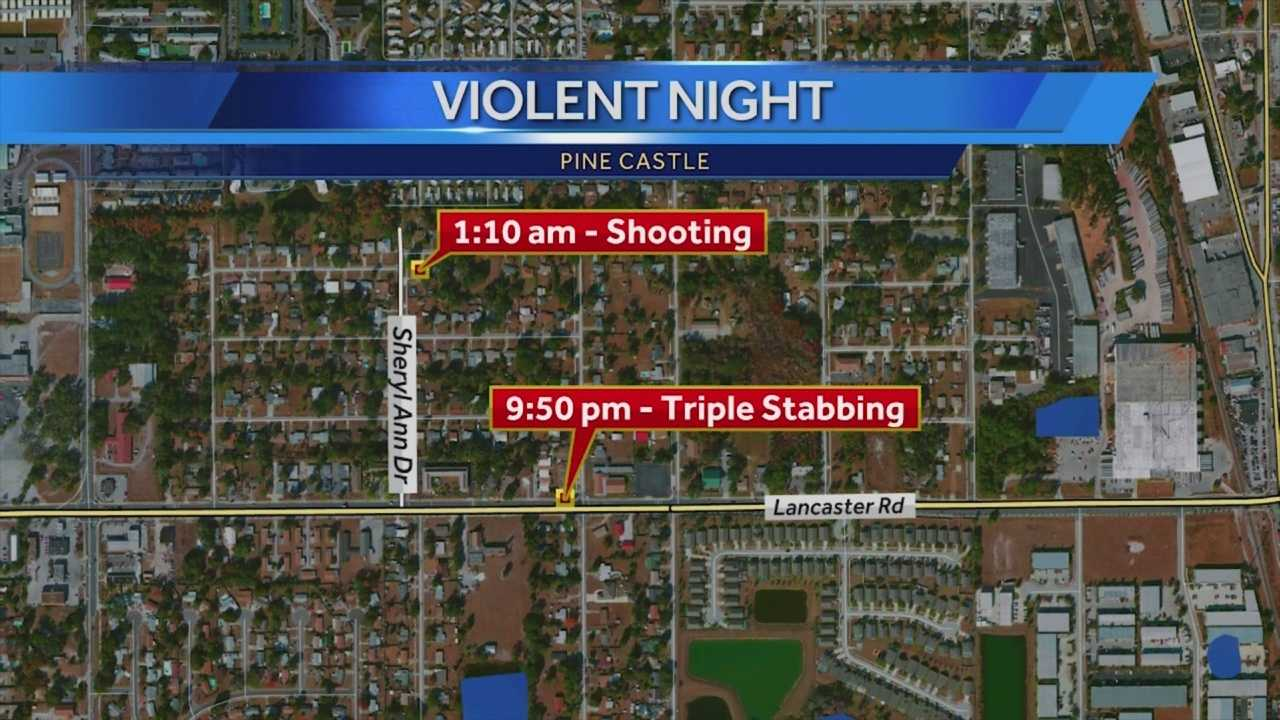 Orange County detectives are trying to find out if two violent crimes that took place within hours of each other are connected. Gail Paschall-Brown (@gpbwesh) has the story.