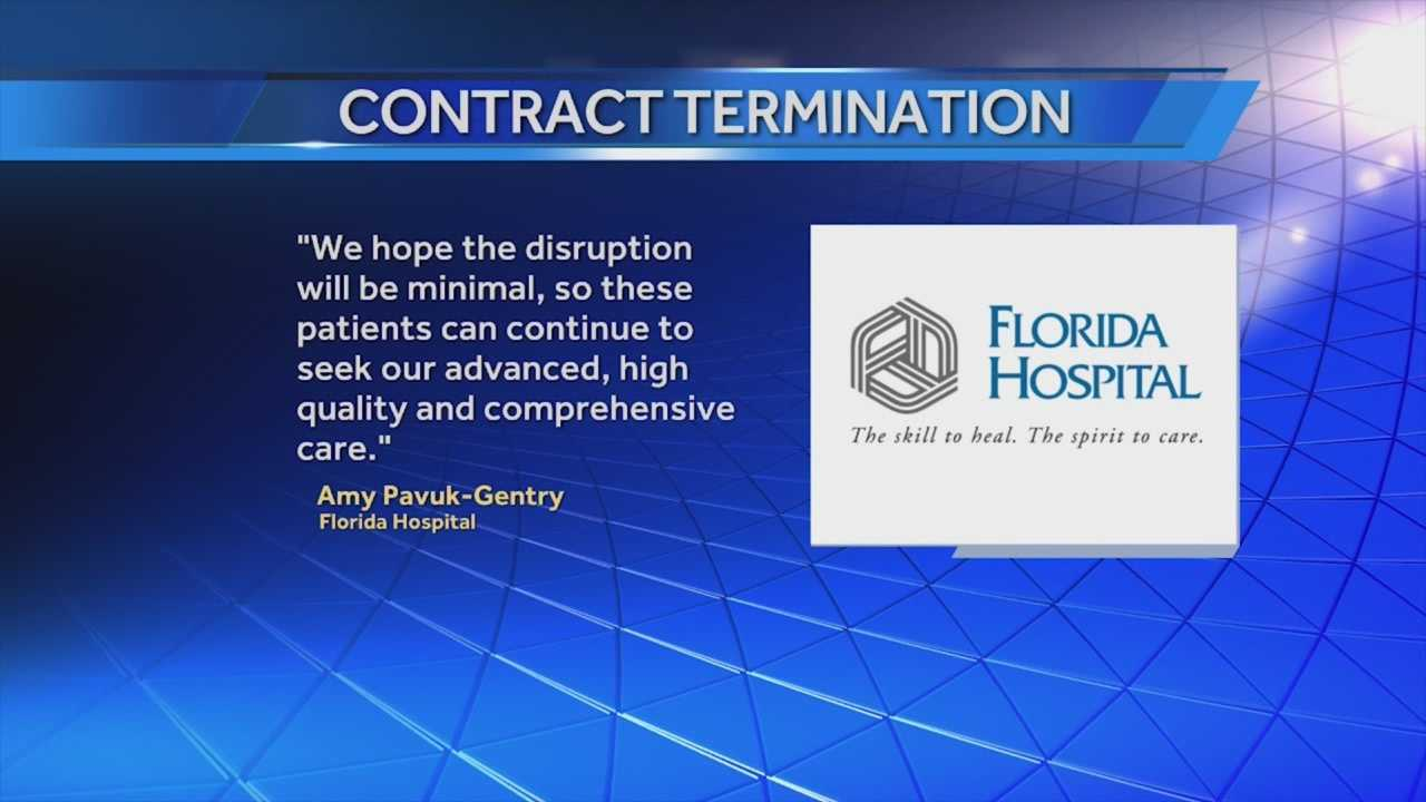 Medicare patients who are used to Florida Hospital for treatment are in for some big changes that could cost them more money. The hospital and Florida Blue Insurance are ending a contract in three weeks. Greg Fox (@GregFoxWESH) has the story.