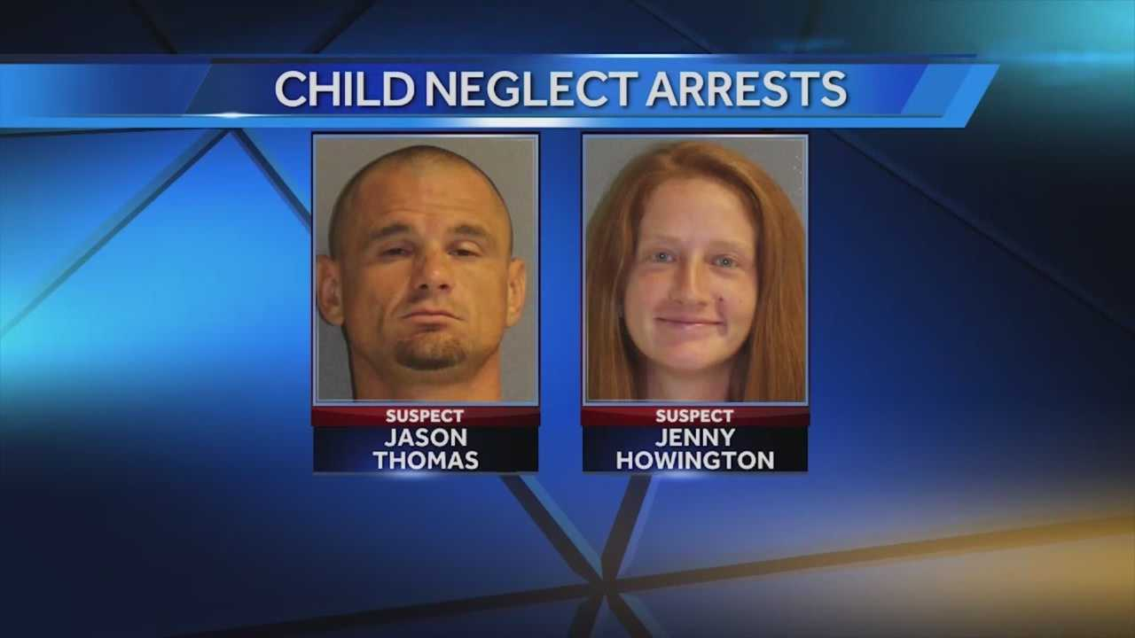 Two adults have been arrested after two kids were left to fend for themselves in the middle of the night.  Adrian Whitsett (@AdrianWhitsett) has the story.
