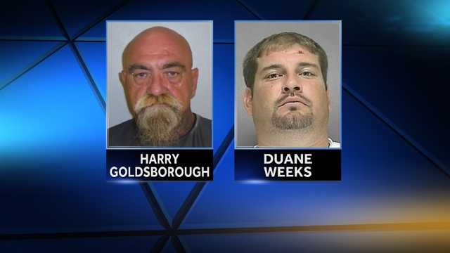 Harry Goldsborough, Duane Weeks