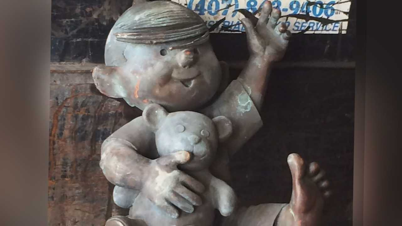 Mystery solved? Or does it merely deepen? We're talking about the Dennis the Menace statue that was discovered at a local scrap yard. Greg Fox (@GregFoxWESH) has the story.