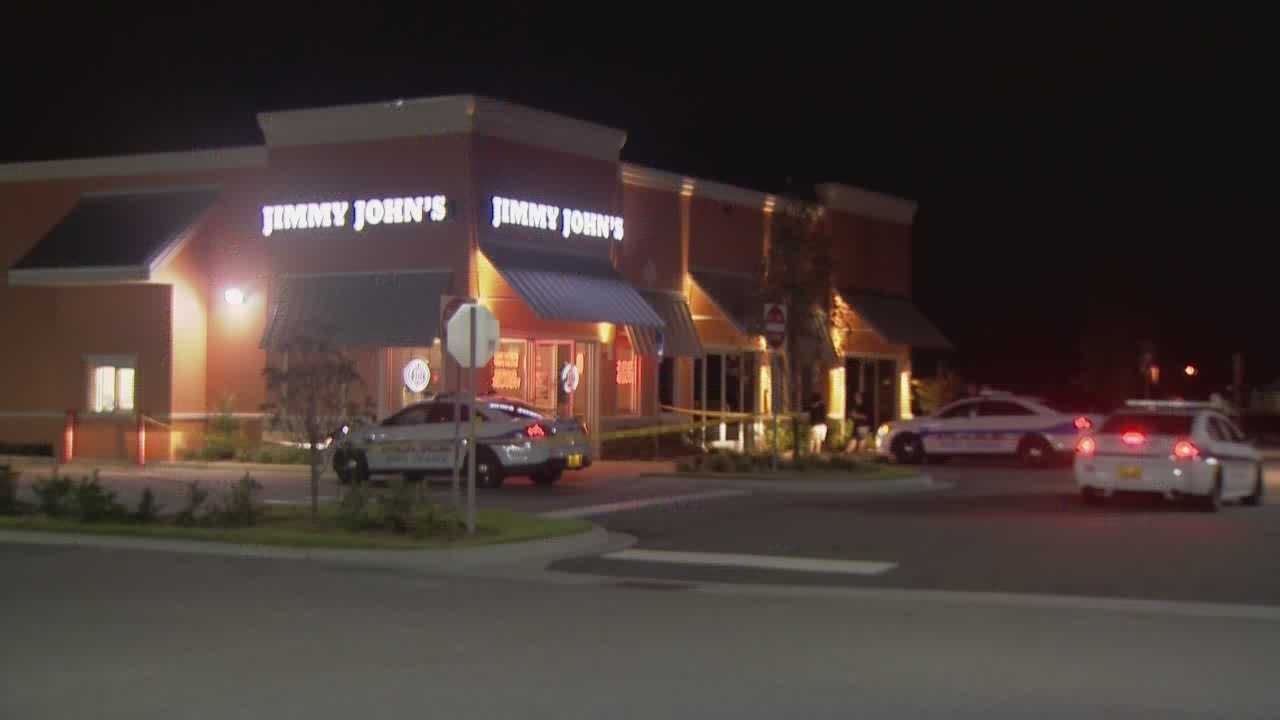 A restaurant robbery in Volusia County could be connected to a series of other crimes. Police are looking for two men who robbed the Jimmy John's in Port Orange and herded the employees into the freezer.