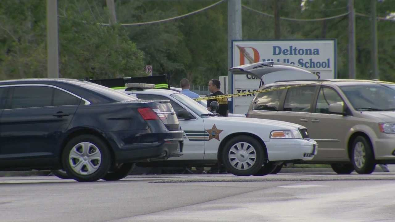 A 6-month-old baby was found dead Friday afternoon inside a vehicle parked at Deltona Middle School, according to the Volusia County Sheriff's Office. Chris Hush (@ChrisHushWESH) has the story.