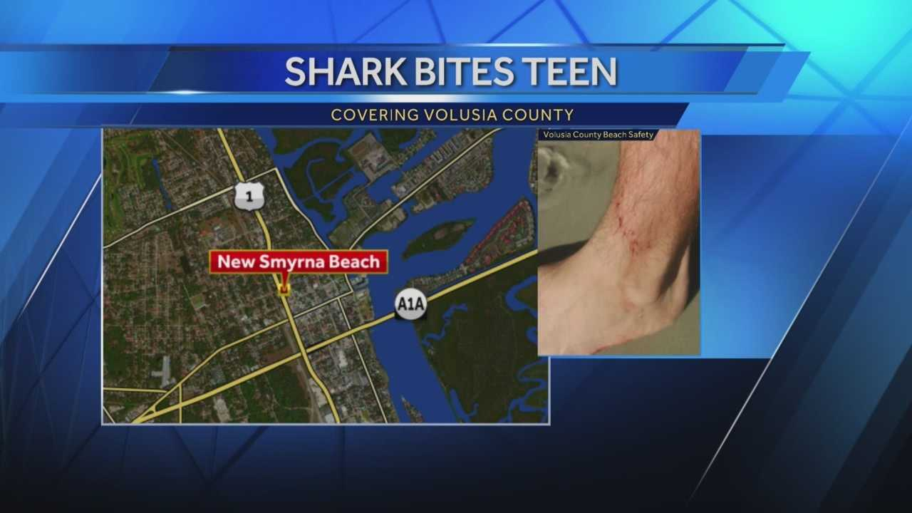 A teen surfer is recovering after becoming Volusia County's latest shark bite victim.
