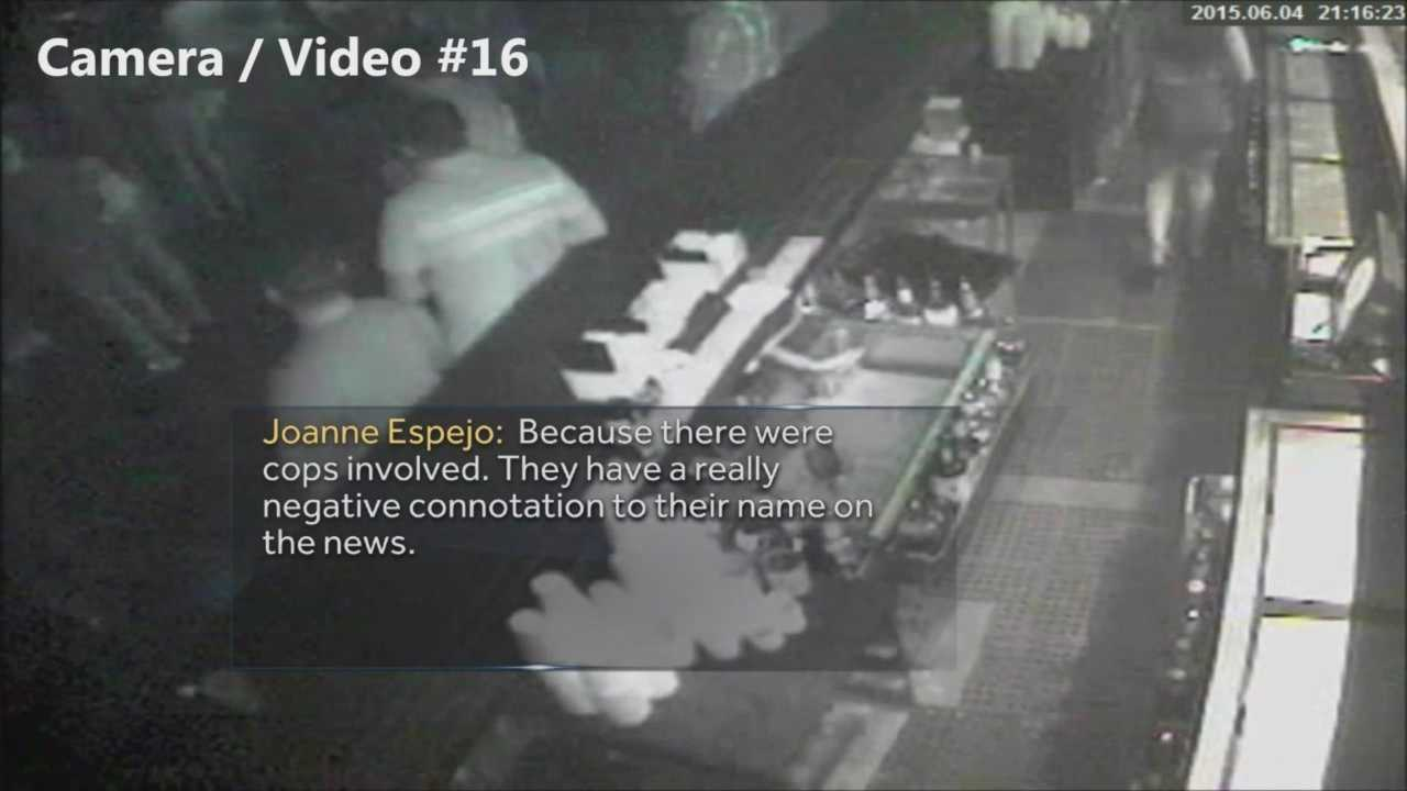 Cellphone video taken of Orlando police officers kicking a suspect sparked accusations of excessive force. Police say the man in the video, Noel Carter, was drunk and had to be physically restrained. The State Attorney has released new video showing the moments before his fight with officers. Angela Taylor reports.
