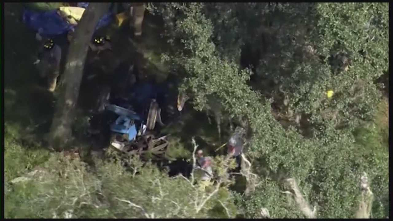A Volusia County man is recovering in the hospital after being trapped under his overturned tractor for five hours. Claire Metz (@clairemetzwesh) has the story.