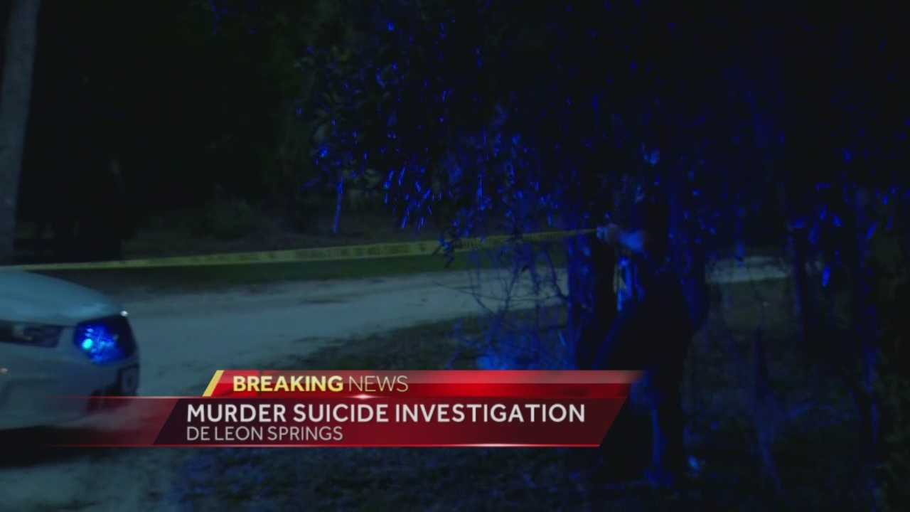 A couple was found dead Wednesday night inside a home in DeLeon Springs, with preliminary signs pointing to an apparent murder-suicide, according to the Volusia County Sheriff's Office. Chris Hush (@ChrisHushWESH) has the story.