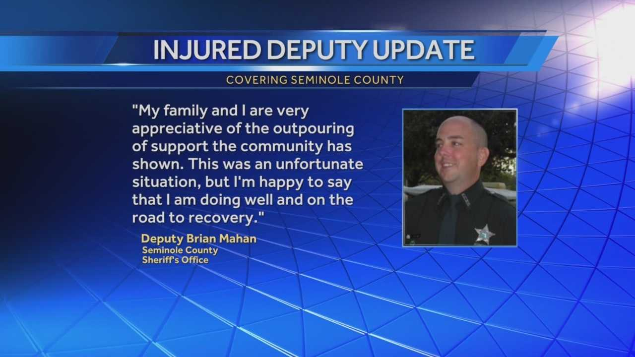 WESH 2 News is hearing from the father of the man accused of shooting a Seminole County deputy on Thursday. Amanda Ober has the story.