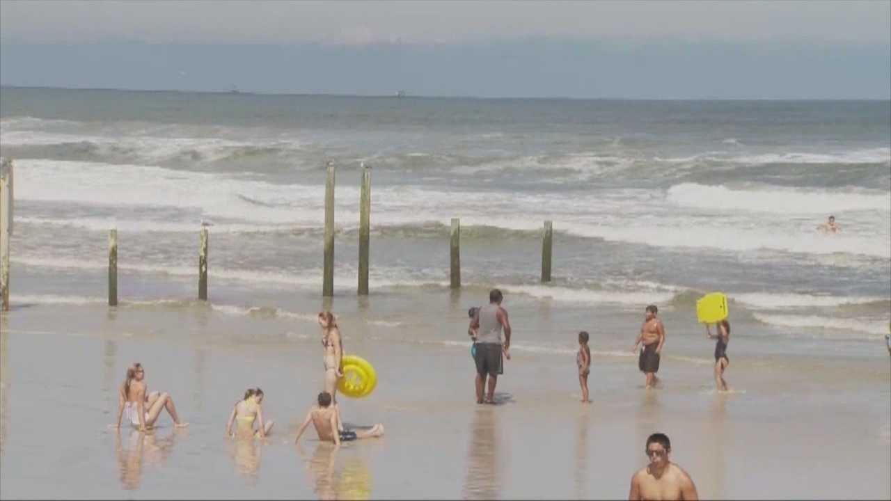 Storm causing dangerous beach conditions