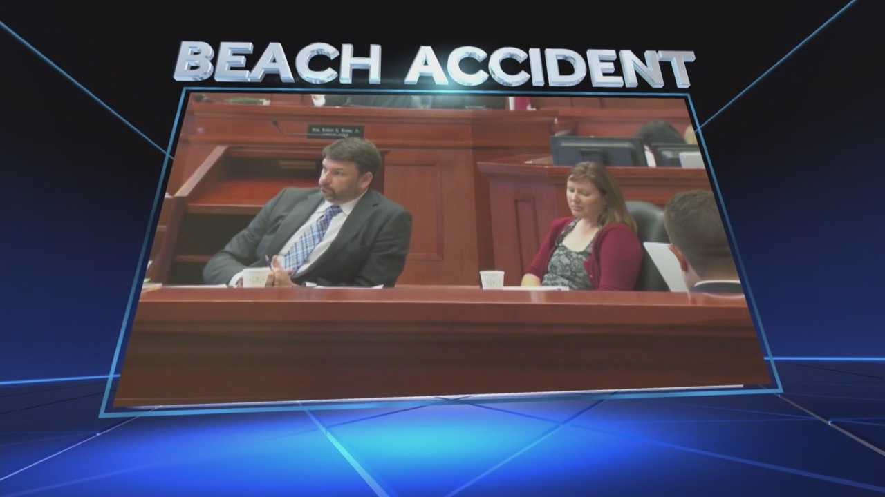 It was almost a year ago when a local jury awarded a tourist more than $2.5 million after she was run over by a beach patrol pickup truck in Daytona Beach. Almost four years after the accident, Erin Joynt is still waiting for much of that cash. Dave McDaniel (@WESHMcDaniel) has the story.