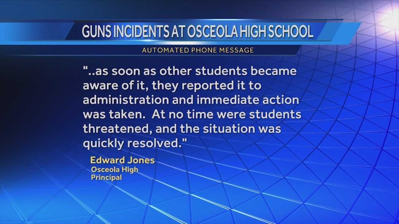 Kissimmee police said a gun was found on the campus of Osceola High School on Wednesday. Amanda Ober (@AmandaOberWESH) has the story.