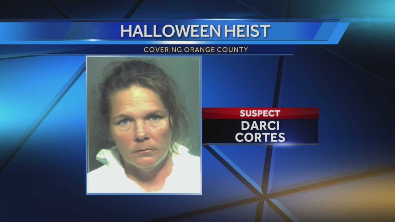 The woman police said was caught on camera stealing Halloween decorations from outside a Winter Garden home is now behind bars. Police have returned the stolen decorations to grateful homeowners. Michelle Meredith (@MichelleWESH) has the story.