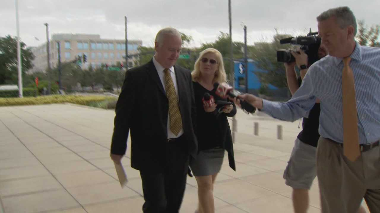 The conspiracy and bribery trial of Longwood's former police chief is now underway. Thomas Jackson was indicted on four counts a year ago. He is accused of accepting bribes from a convicted felon to help him become a Longwood police officer. Bob Kealing (@bobkealingwesh) has the story.