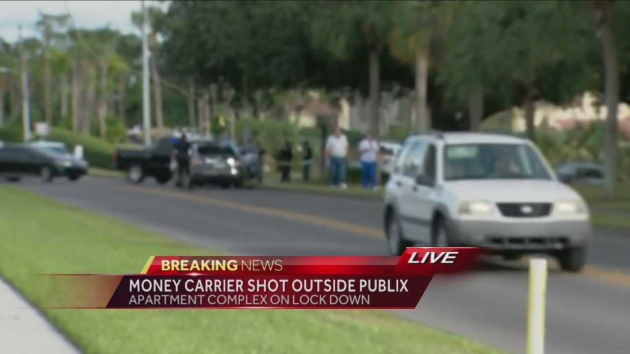 Royal Arms Condominiums were put on lockdown because of a shooting at a nearby Publix in Altamonte Springs. Matt Lupoli reports.