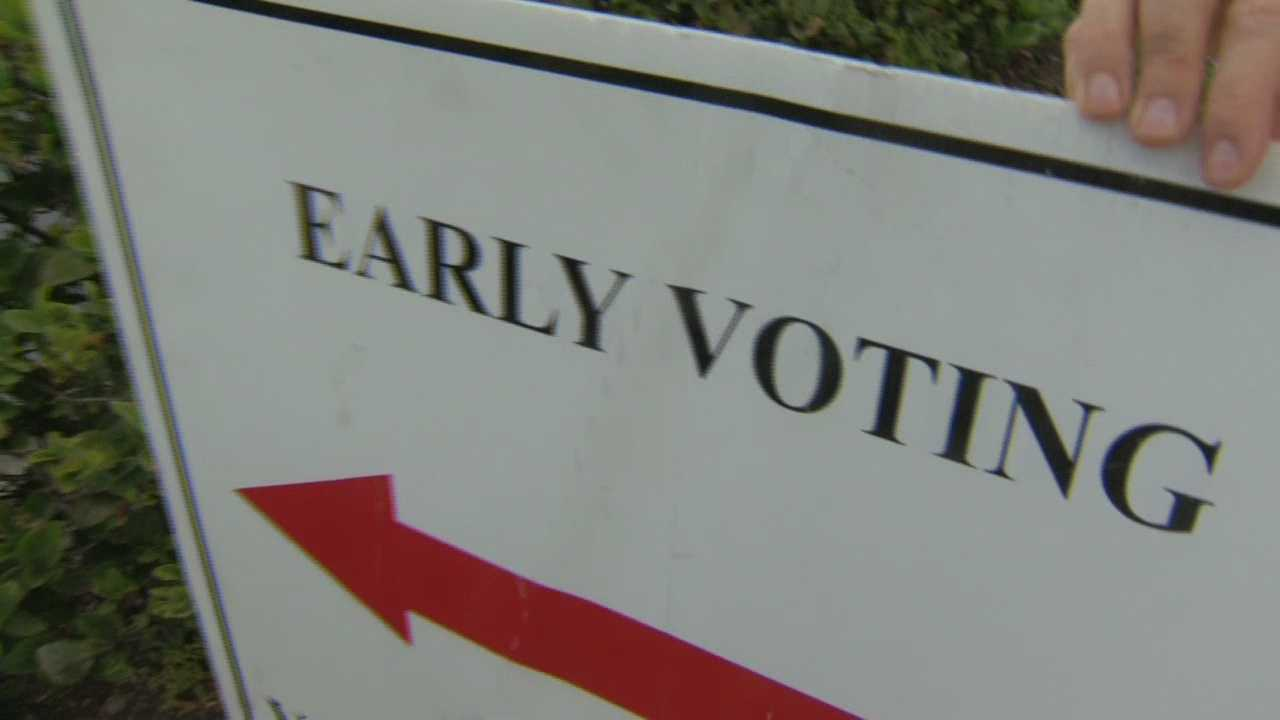 Voters are heading to the polls in Orlando next Tuesday, with early voting kicking off this week. Amanda Ober has the story.