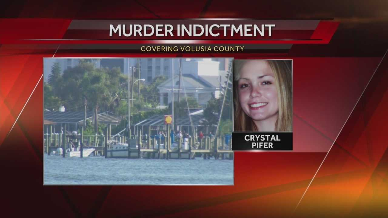 A grand jury has issued an indictment for the man suspected in the death of a 28-year-old Daytona Beach woman whose body was found in the Halifax River in August. Claire Metz has the story.