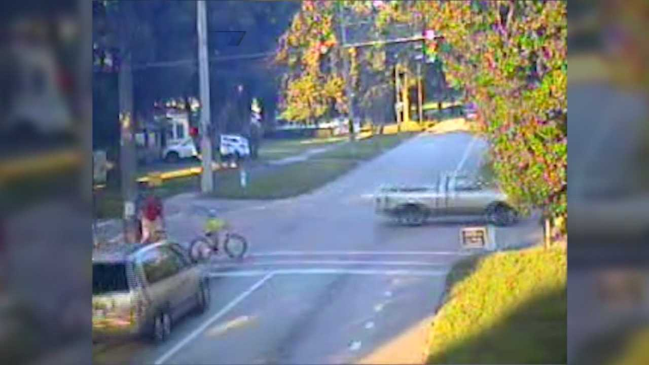A local girl is recovering after a scary crash that was caught on video.