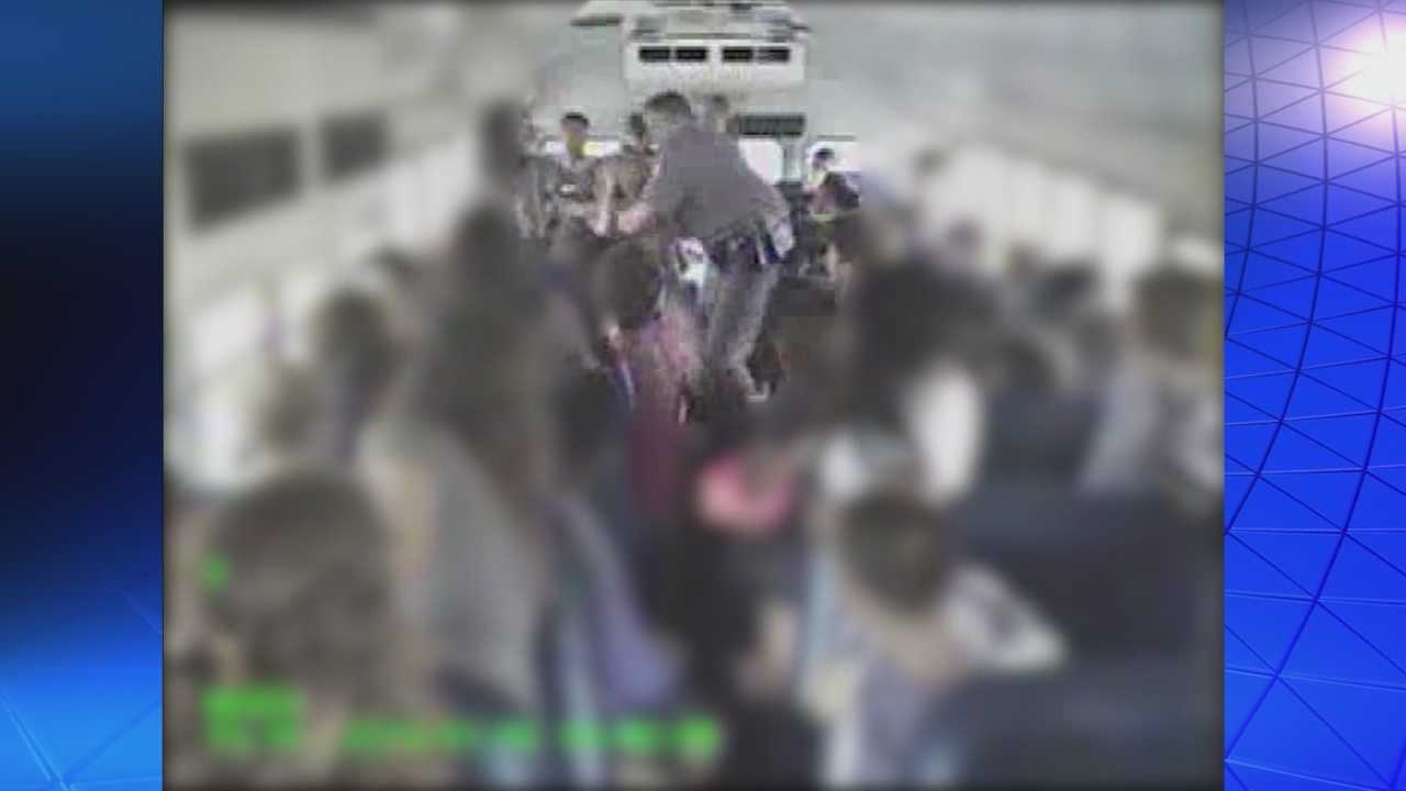 Chaos ensued as a brawl broke out on a school bus in Altamonte Springs. It all started after the driver pulled over and called for help to deal with a separate fight. Chris Hush (@ChrisHushWESH) has the story.