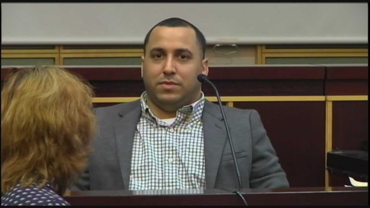 John DeJesus, the Orange County man on trial for killing his fiancée, was found guilty of first-degree murder on Friday. DeJesus was sentenced to life in prison. Adrian Whitsett (@AdrianWhitsett) has the story.