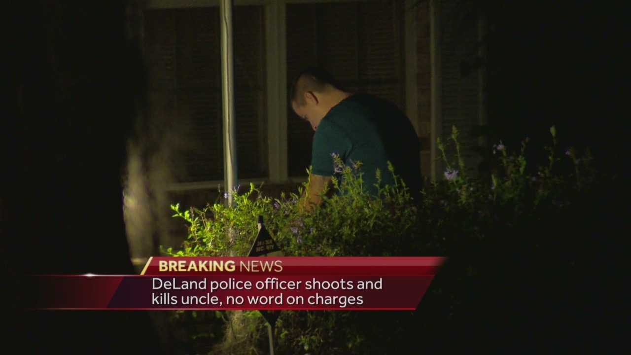 The Volusia County Sheriff's Office is investigating a fatal shooting in Deltona, officials said Friday. A reported family argument at a house in Deltona Friday night ended in the shooting death of a 68-year-old man, WESH 2 News has learned. Matt Lupoli has the story.