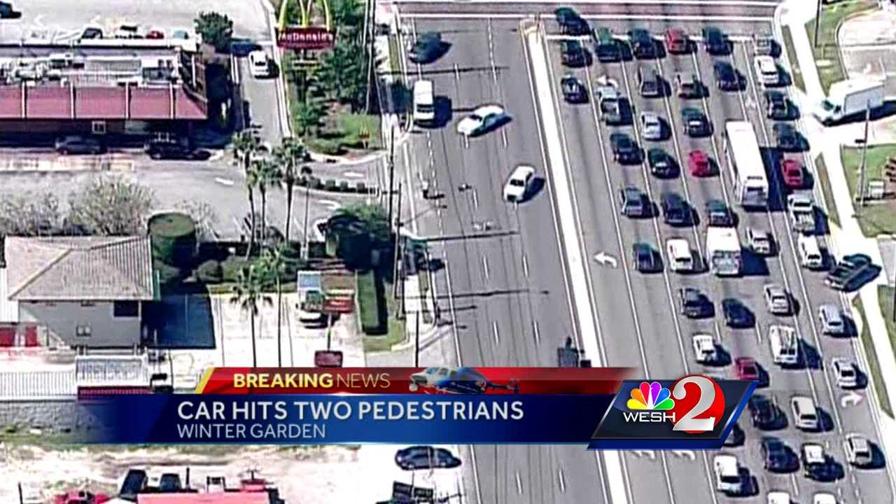 pedestrian hit by pickup in winter garden