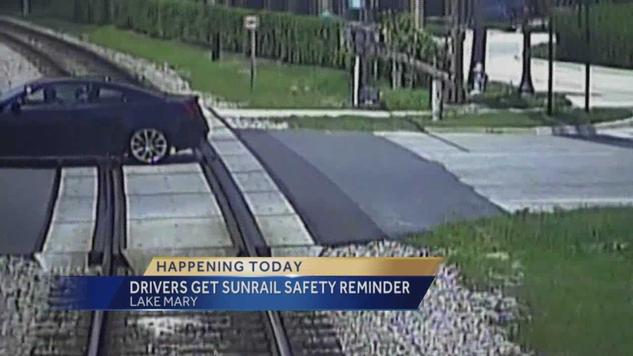 Police in Lake Mary will be ticketing drivers this week for stopping too close to the railroad tracks.