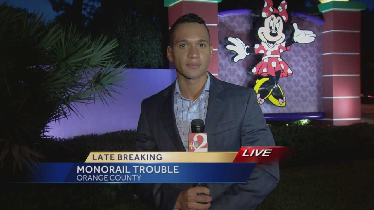Monorail service was stopped at Disney World after a problem on the tracks, WESH 2 News has learned. Chris Hush is live with the latest update.