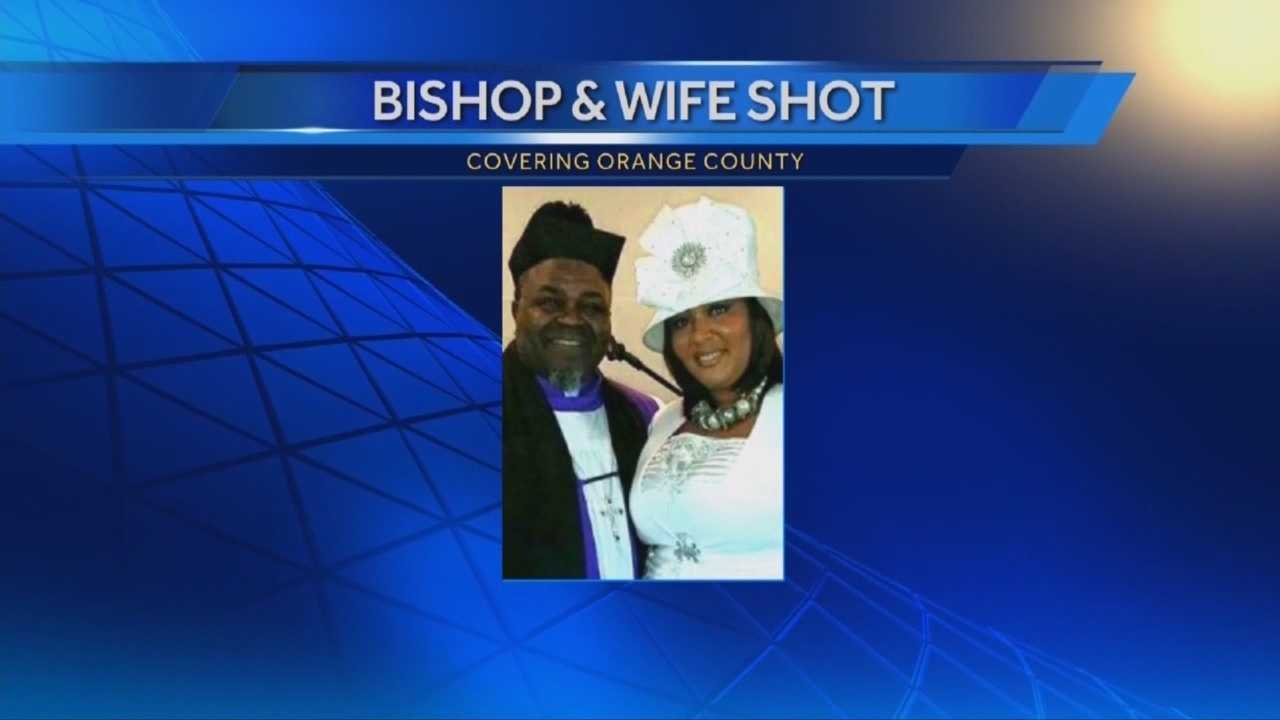 A local bishop and his wife were caught in gunfire that wasn't meant for them. The couple was working inside a meat shop when bullets started to to fly. Witnesses said the shooter had some sort of argument, went into a barber shop and then went to his car. Adrian Whitsett (@AdrianWhitsett) has the story.