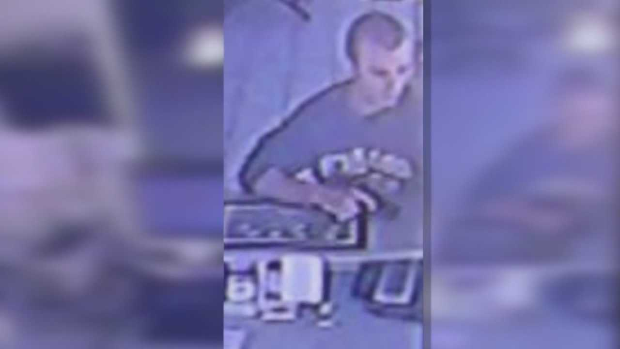 Police search for gunman who robbed two hotels Friday morning