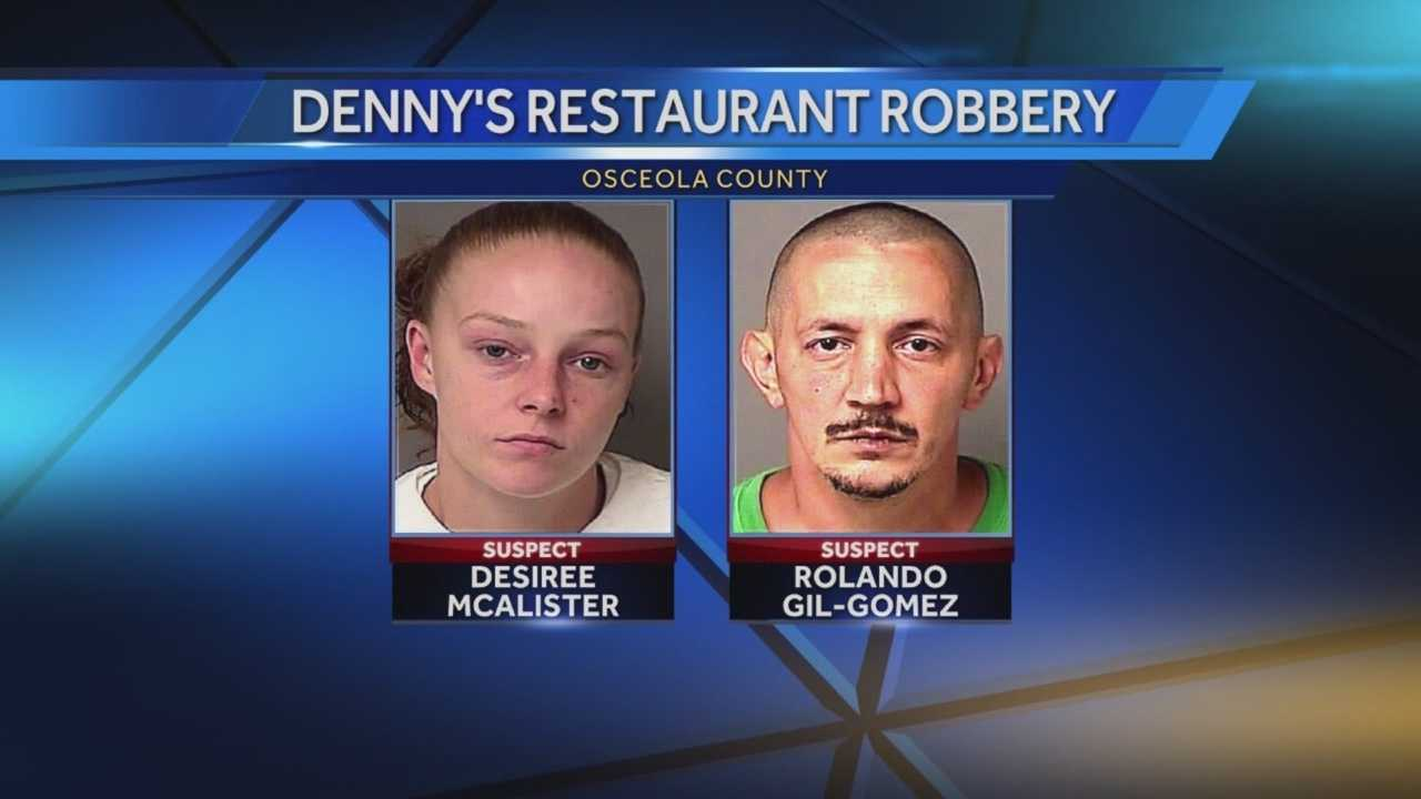 An early morning meal was interrupted by a dangerous duo. Authorities say they stole money from the cash register and customers inside. Gail Paschall-Brown (@gpbwesh) has the story.