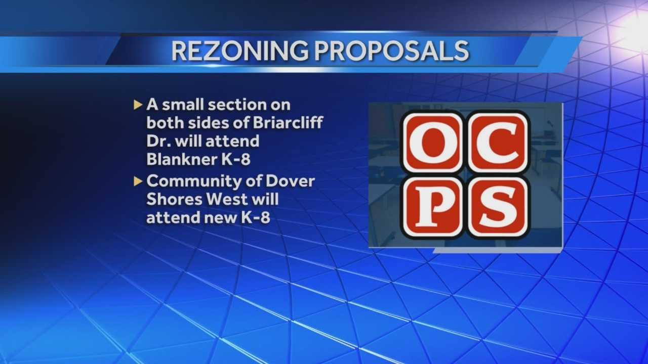 The Orange County School Board has given the green light to rezone nearly 3,000 students. WESH 2's Summer Knowles (@WESH2SummerK) spoke with parents, who say they approve the changes.