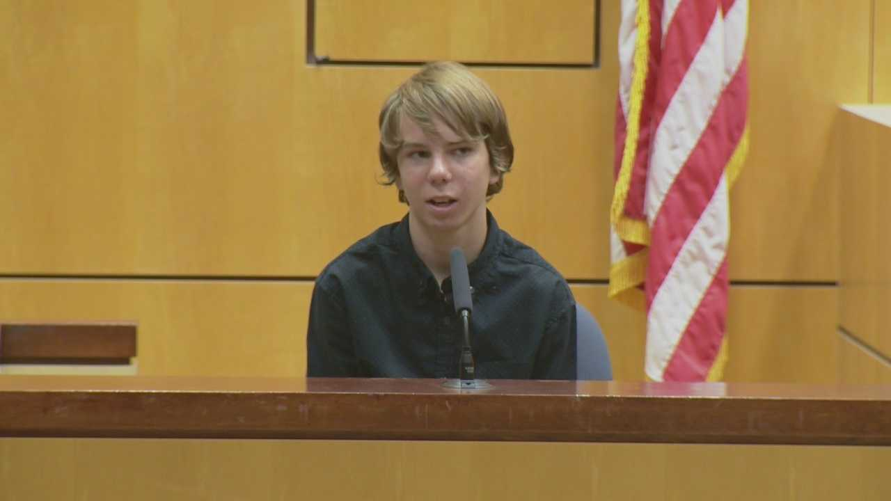 A local woman is on trial, accused of running down a 12-year-old boy with her car and then leaving the scene in Brevard County. Dan Billow (@DanBillowWESH) has the story.