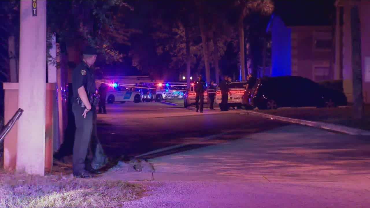 Police are investigating after a man and woman were shot in Orlando Monday evening, according to officials. The man died as a result of the shooting, according to Orlando police.