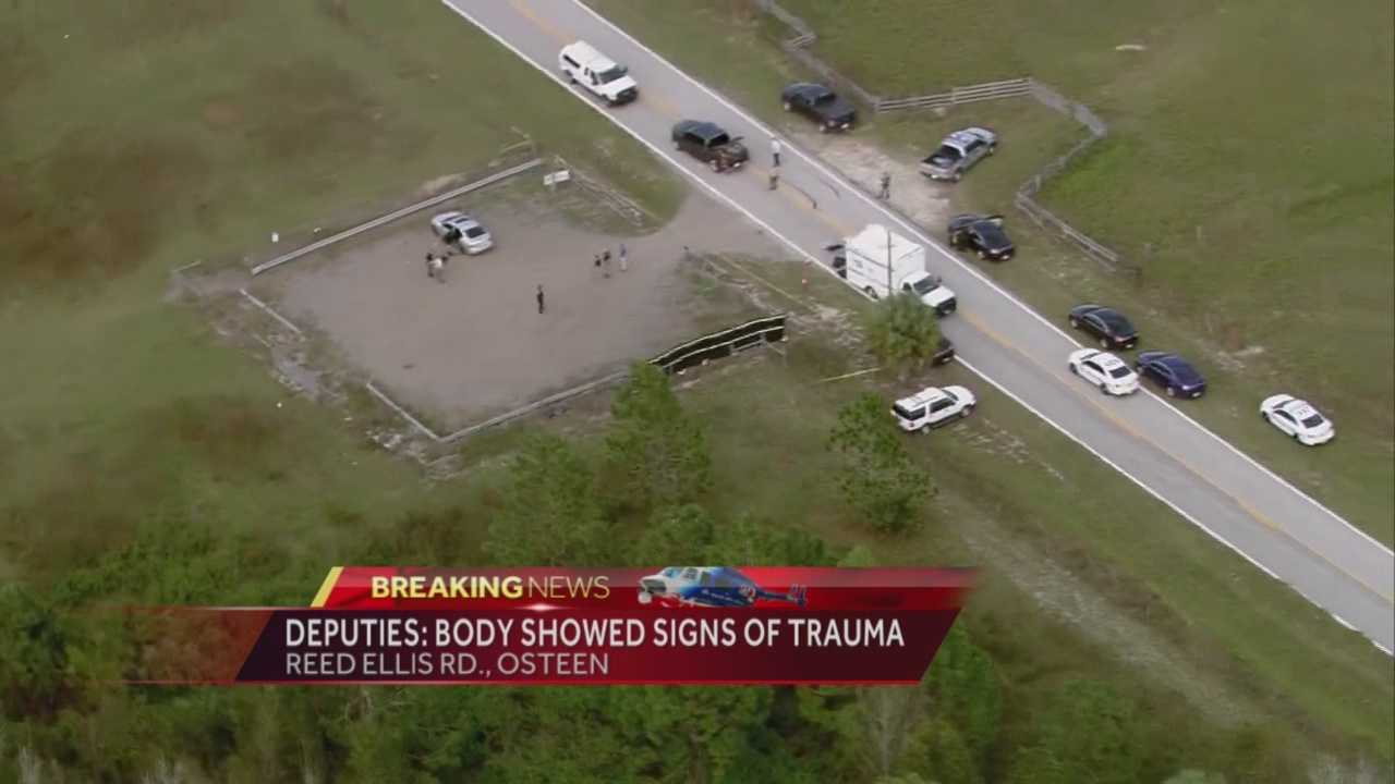 The Volusia County Sheriff's Office is investigating after a man's body was found in a vehicle off Reed Ellis Road in the Osteen area. Michelle Meredith reports.