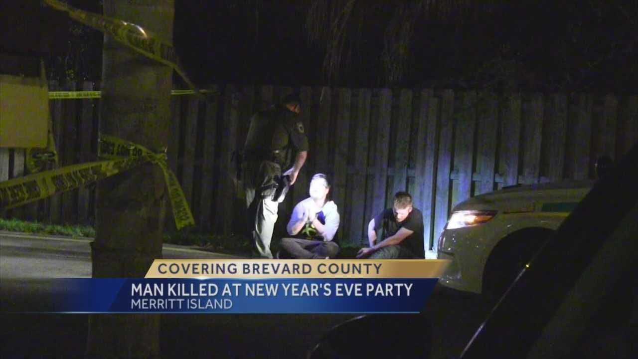 A local man told investigators he shot and killed another man at a New Year's Eve party in Merritt Island. So far, no arrests have been made. Dan Billow (@DanBillowWESH) has the story.