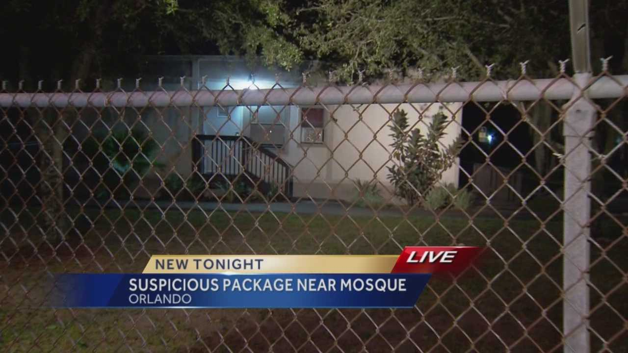 A busy street was shut down for hours as police investigated a suspicious package near an Orlando mosque. The scene was cleared Tuesday evening. Summer Knowles has the latest update.