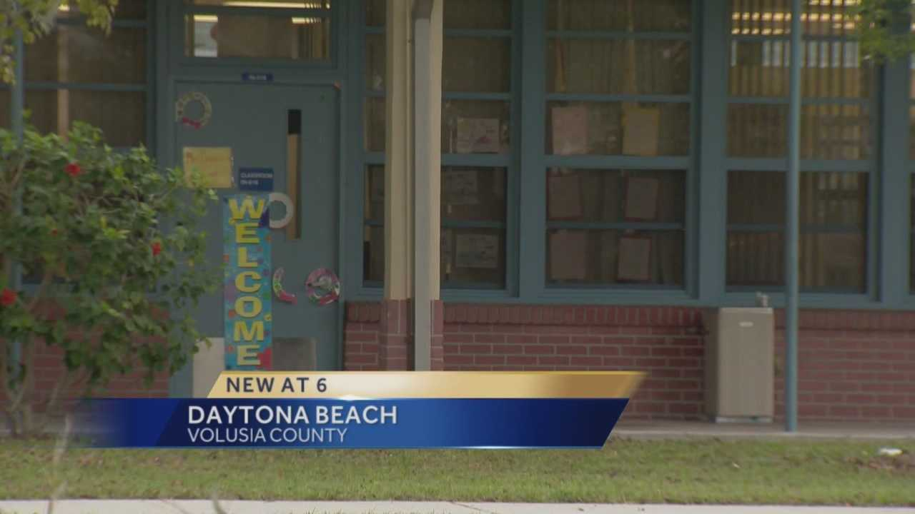 A substitute teacher in Volusia County who was upset that her students weren't behaving allegedly told them she could have them shot. She is accused of making those controversial comments to third graders at Turie T. Small Elementary School in Daytona Beach. Claire Metz (@clairemetzwesh) has the story.