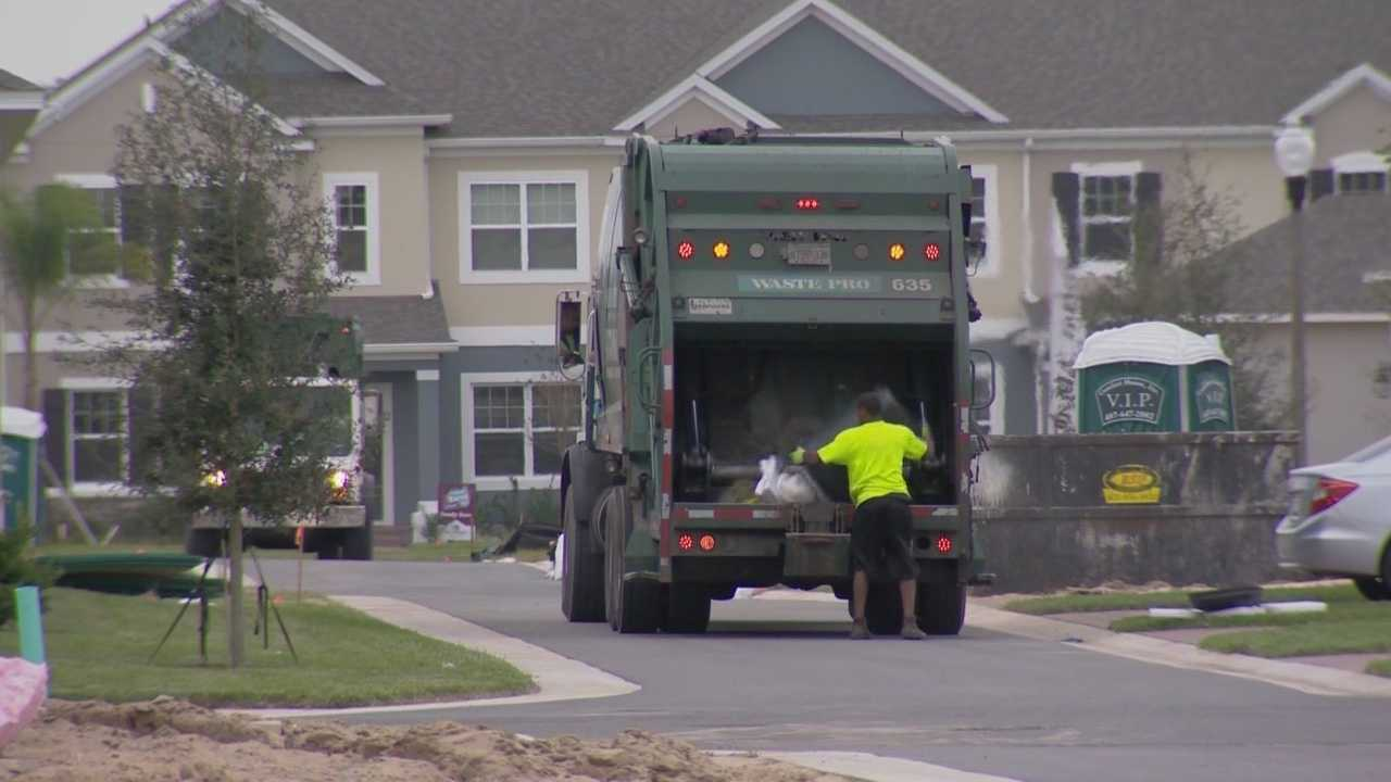 Orange County is having problems with its new trash program. Residents of one neighborhood said they have not seen a trash truck since last year. Dave McDaniel (@WESHMcDaniel) has the story.