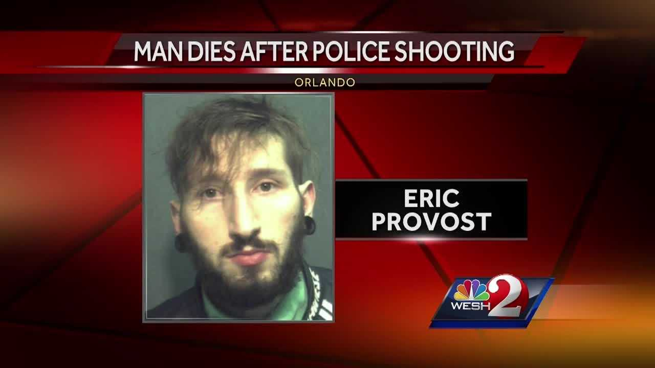 Orlando police have identified a 28-year-old man who was shot and killed by officers Monday night.