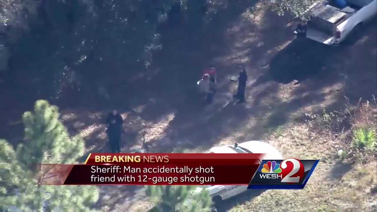 The Volusia County Sheriff's Office is investigating an apparent hunting accident Wednesday afternoon that claimed the life of a man in a wooded area of Oak Hill, WESH 2 News has learned. Gail Paschall-Brown (@gpbwesh) has the story.